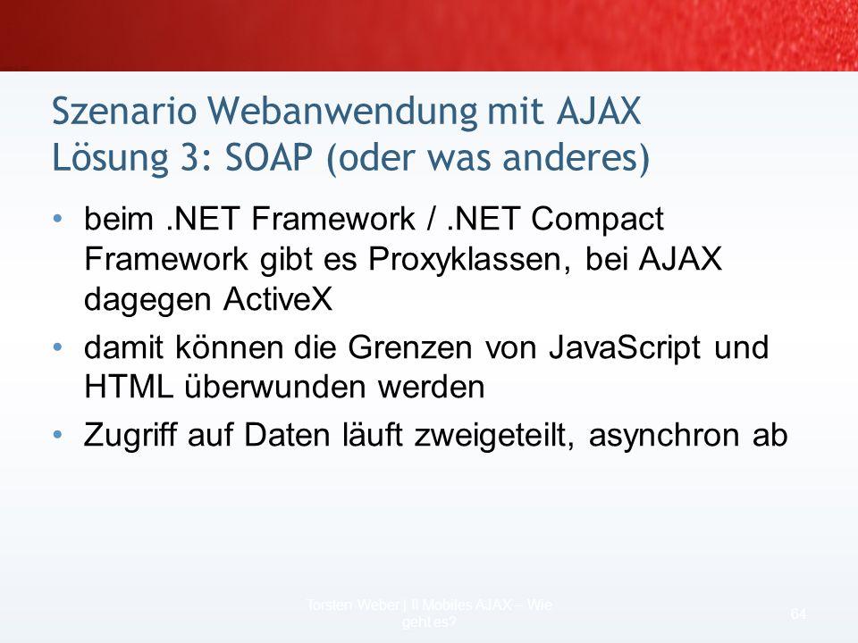 Internet Explorer Mobile 5 bietet JScript 5.6 bei Windows Mobile 2003 – innerText und innerHMTL nur bei div und span unterstützt –Zugriff auf Inhalte