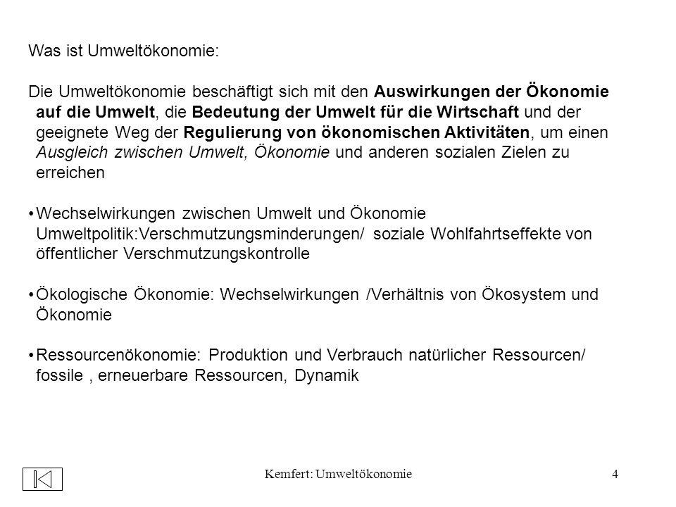 Kemfert: Umweltökonomie115 Noch unklar/weitere Verhandlungen: Rolle der Entwicklungsländer: sollen mit aufgenommen werden .