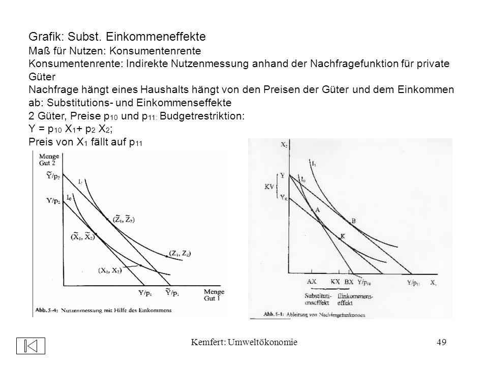 Kemfert: Umweltökonomie49 Grafik: Subst.
