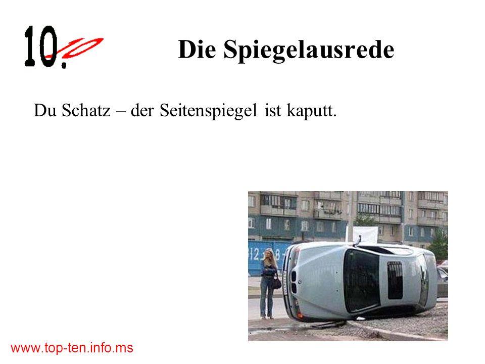 www.top-ten.info.ms Die zehn größten Frau am Steuer-Pannen