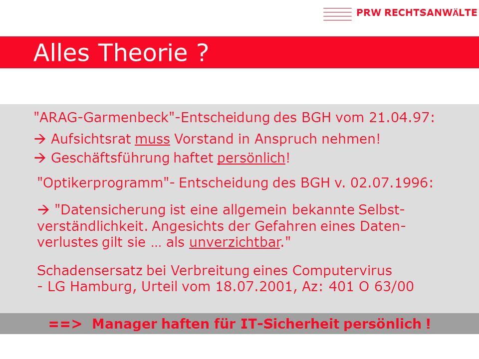 PRW RECHTSANW Ä LTE Alles Theorie .