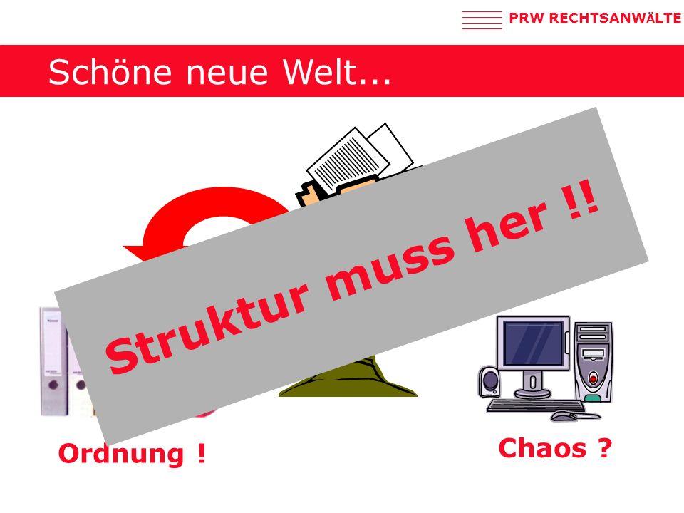 PRW RECHTSANW Ä LTE Wie lange ist aufzubewahren.