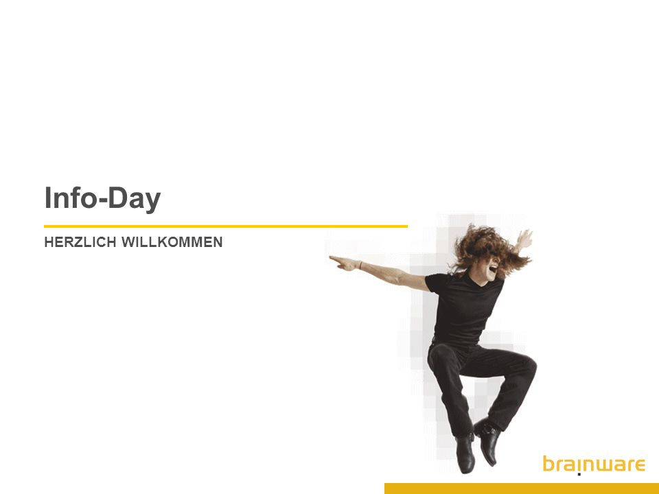 13 © 2005 Brainware Solutions AG Lifecycle Management Combine technical facts and business data Technical versus Organisational Data Technical Inventory Retrieve technical facts and changes