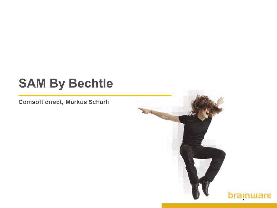 SAM By Bechtle Comsoft direct, Markus Schärli
