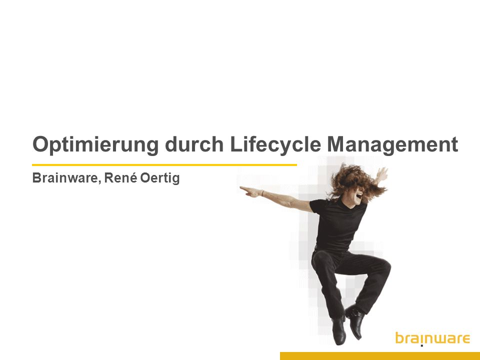 35 © 2005 Brainware Solutions AG Live Demo Contract