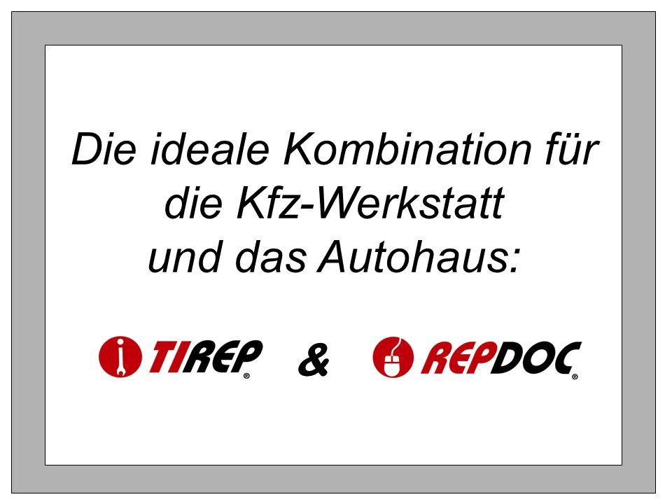 & Die ideale Kombination für die Kfz-Werkstatt und das Autohaus: