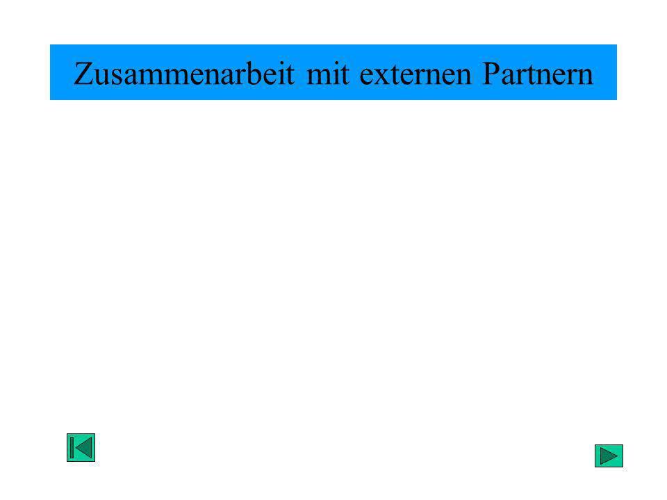 Zusammenarbeit mit externen Partnern