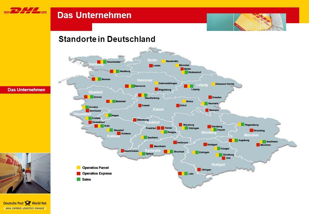 Das Unternehmen Standorte in Deutschland