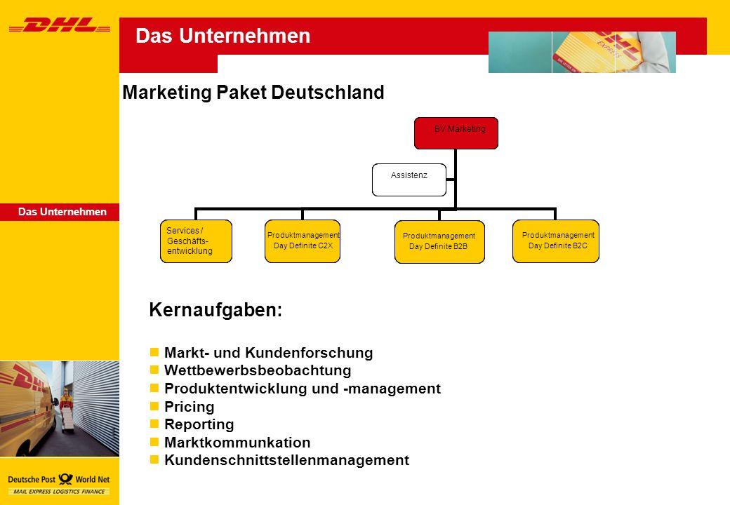 Das Unternehmen Marketing Paket Deutschland BV Vertrieb Katja Herbst KeyAccount Management HeinrichEilers Flächenvertrieb Hans-Martin Vogt Kundenservice & Telesales/CityVertrieb Kay Rosenbaum Vertriebsentwicklung Dr.