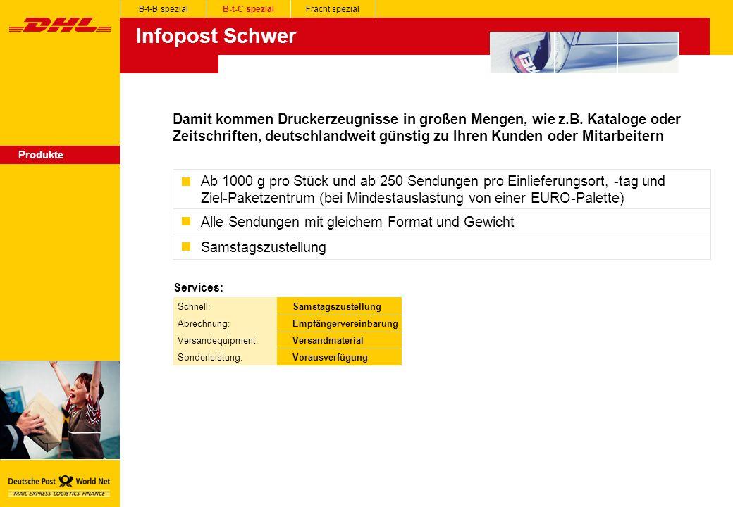 Infopost Schwer Produkte Damit kommen Druckerzeugnisse in großen Mengen, wie z.B.