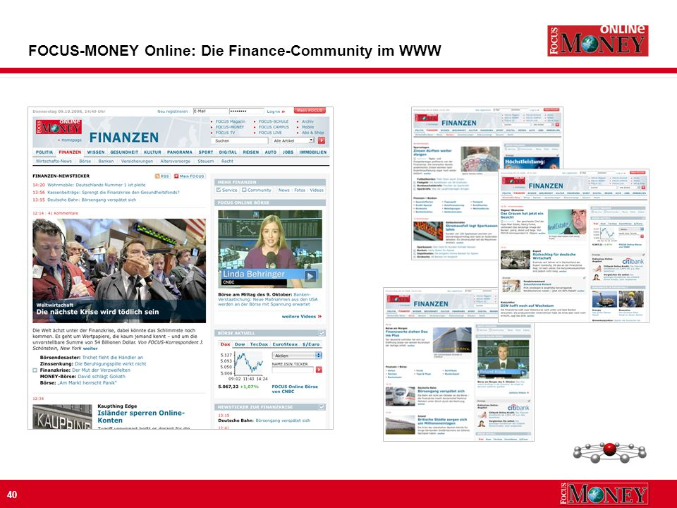 40 FOCUS-MONEY Online: Die Finance-Community im WWW