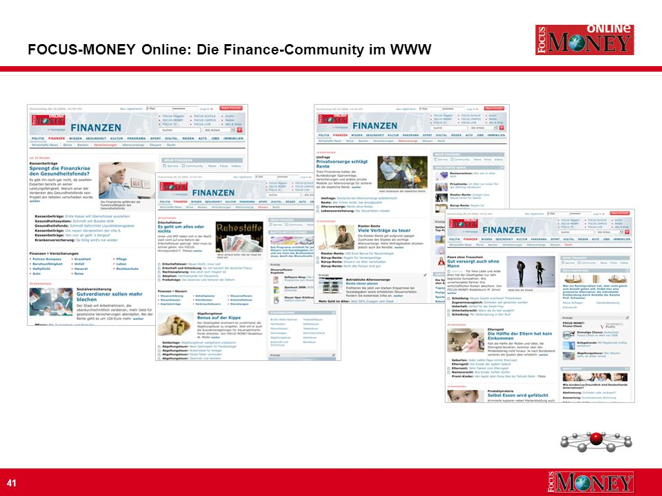 41 FOCUS-MONEY Online: Die Finance-Community im WWW