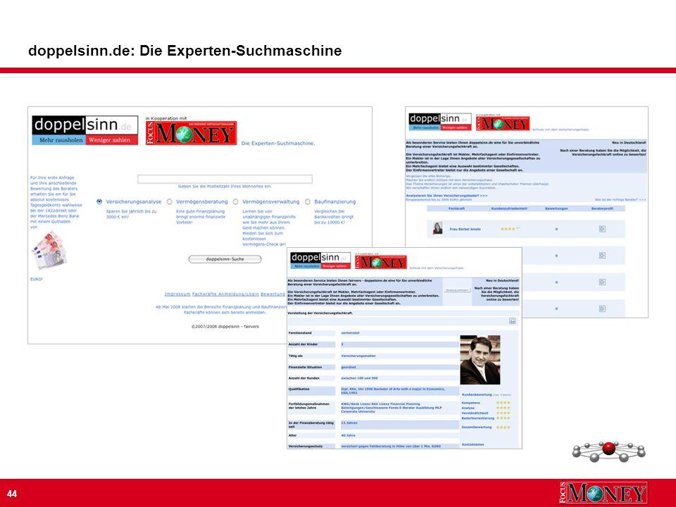 44 doppelsinn.de: Die Experten-Suchmaschine