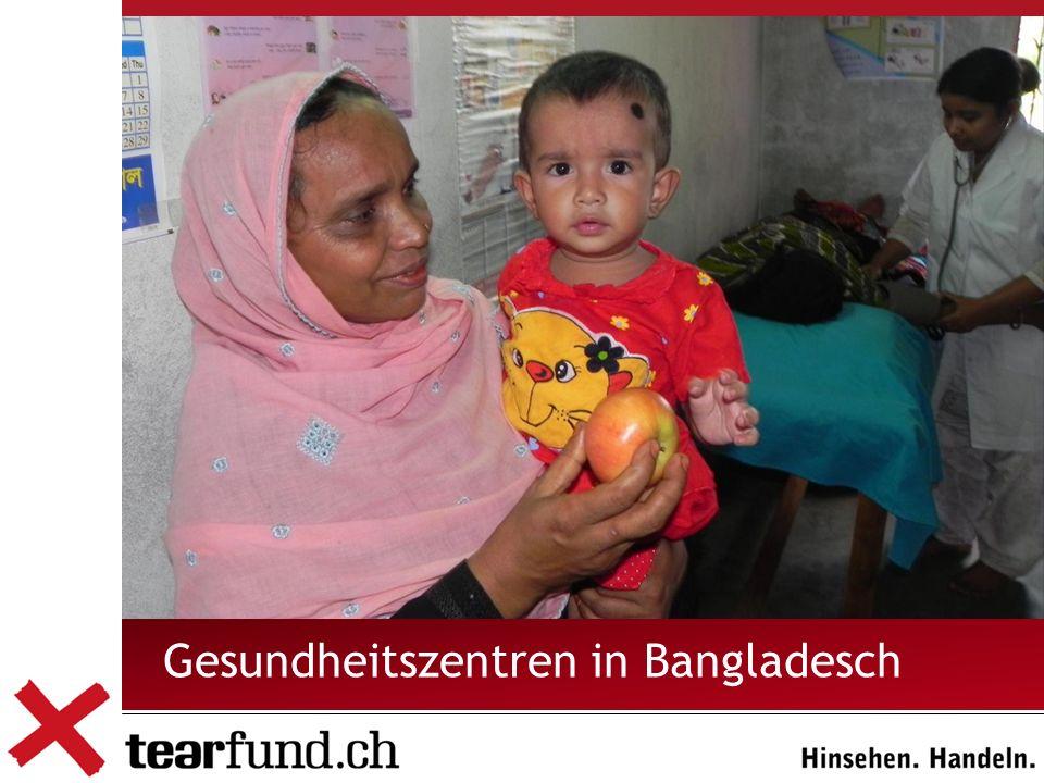 Gesundheitszentren in Bangladesch