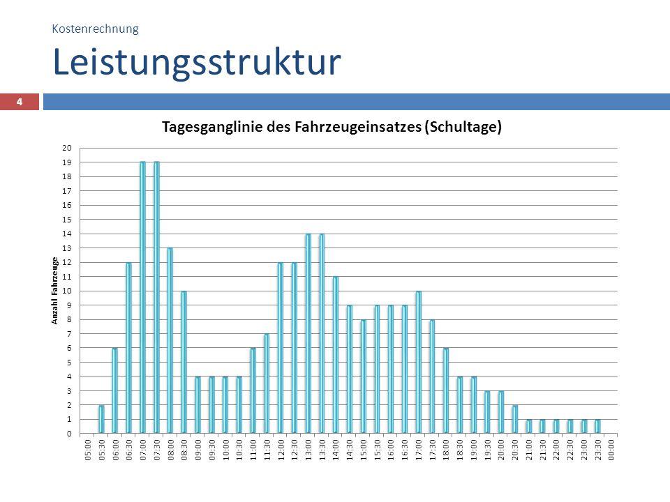 Kostenrechnung Leistungsstruktur 4