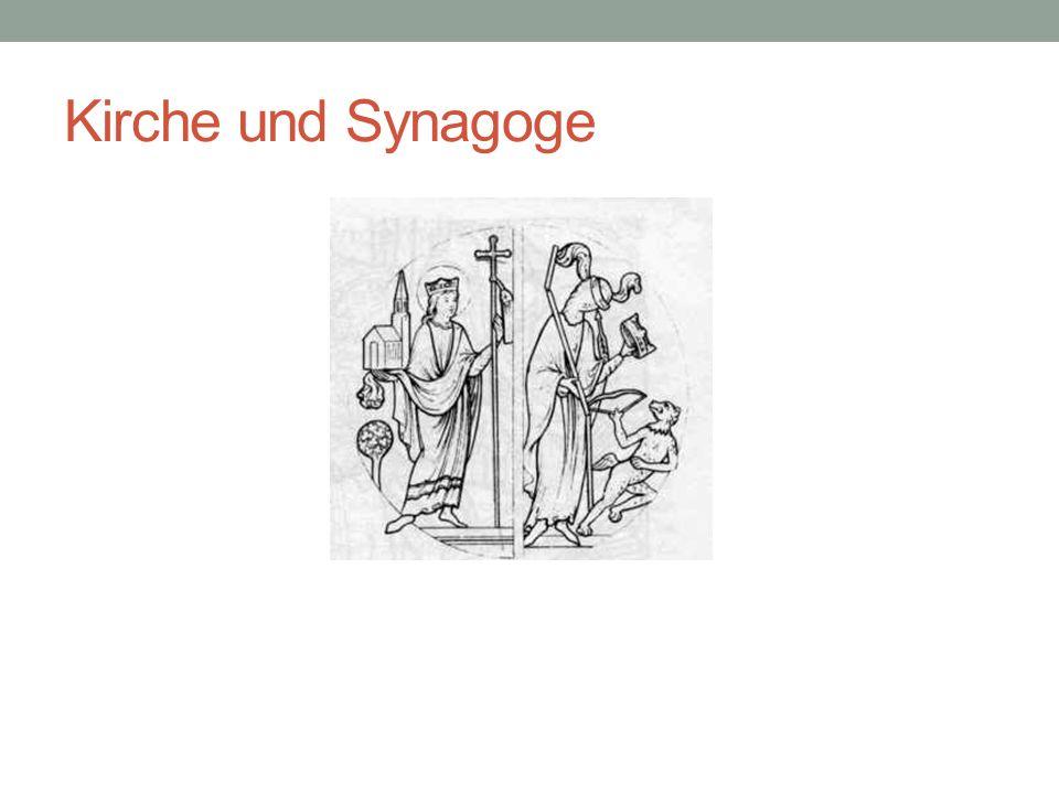 Kirche und Synagoge