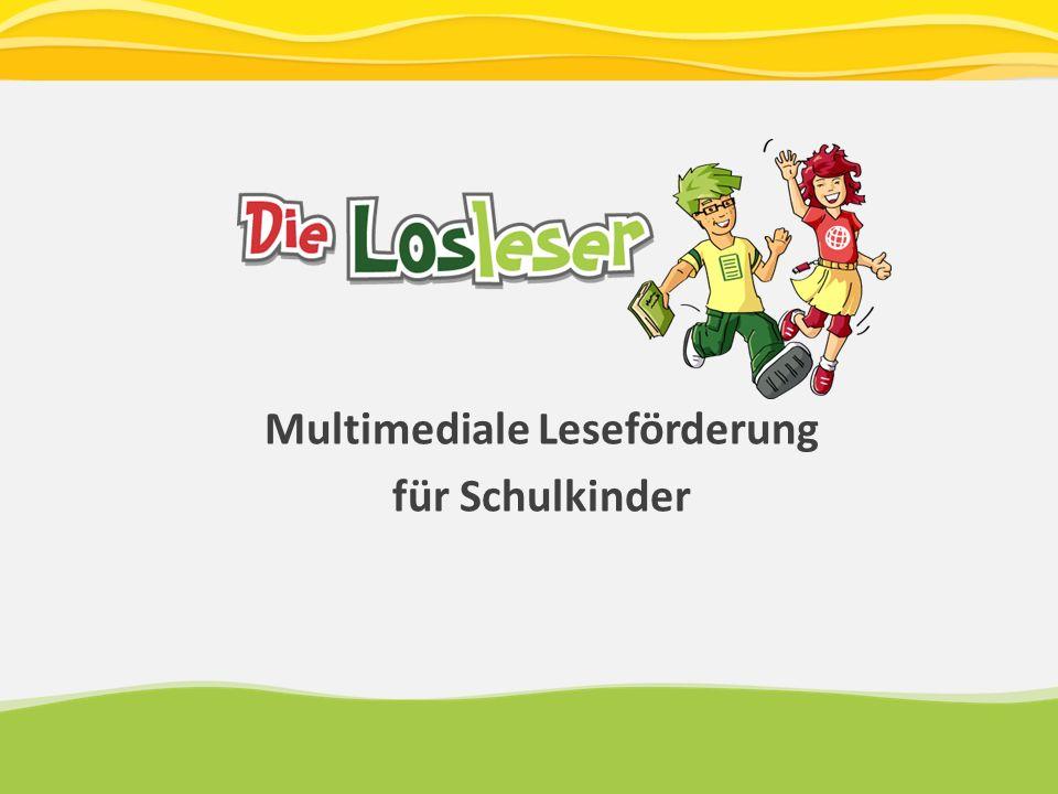 Multimediale Leseförderung für Schulkinder