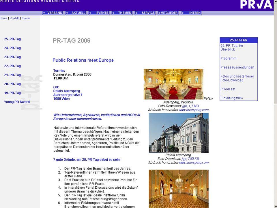 Checkliste II Download von Dateien z.B.