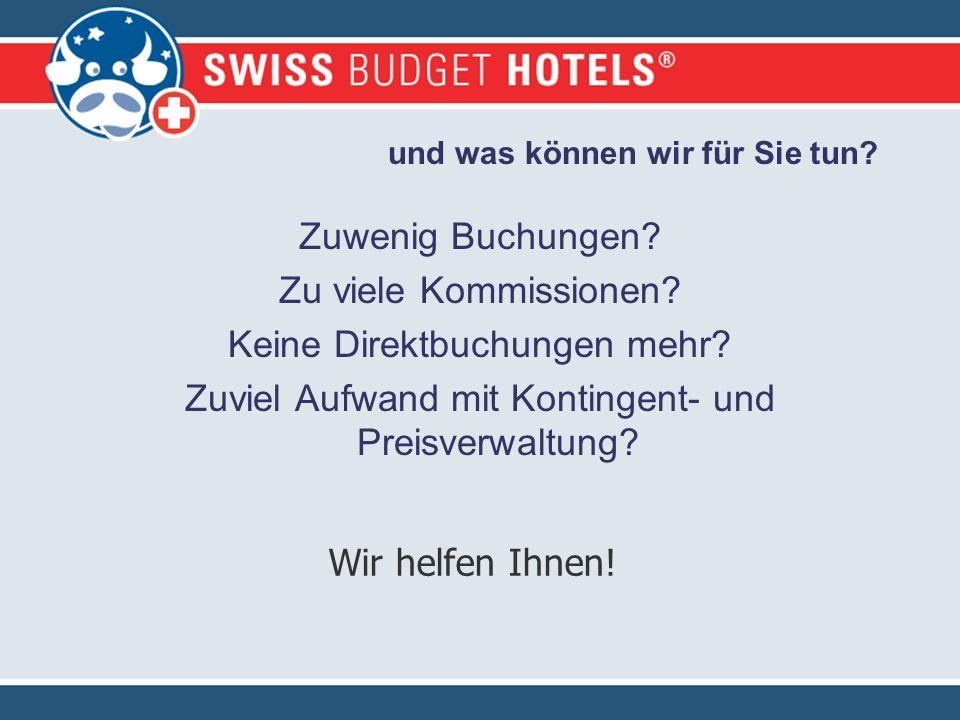 Wir stellen uns vor Swiss Budget Hotels ist mit über 140 Mitgliedern der grösste Verein unabhängiger Hotels der Schweiz.