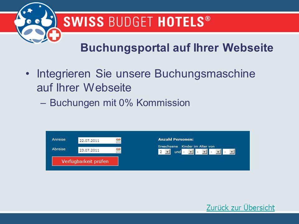 Buchungsportal auf Ihrer Webseite Integrieren Sie unsere Buchungsmaschine auf Ihrer Webseite –Buchungen mit 0% Kommission Zurück zur Übersicht