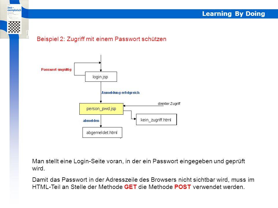 Learning By Doing Beispiel 1: Datensätze suchen sql =