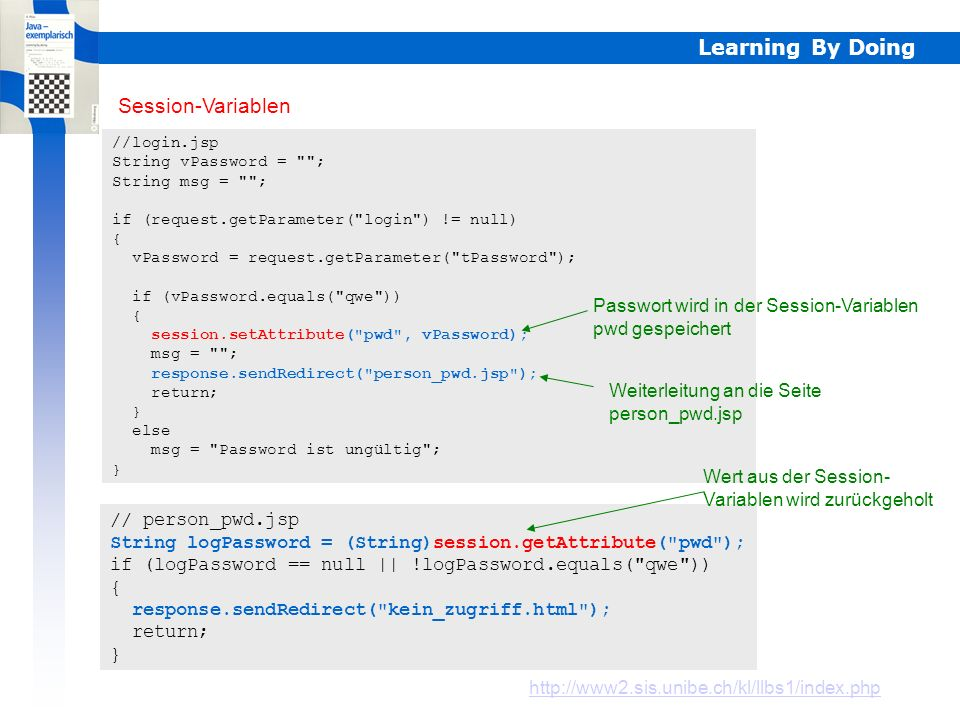 Learning By Doing HTTP - Transaktionen HTTP - Transaktionen basieren auf einem einfachen Anforderung/Antwort-Schema. Dabei ist zu beachten, dass HTTP