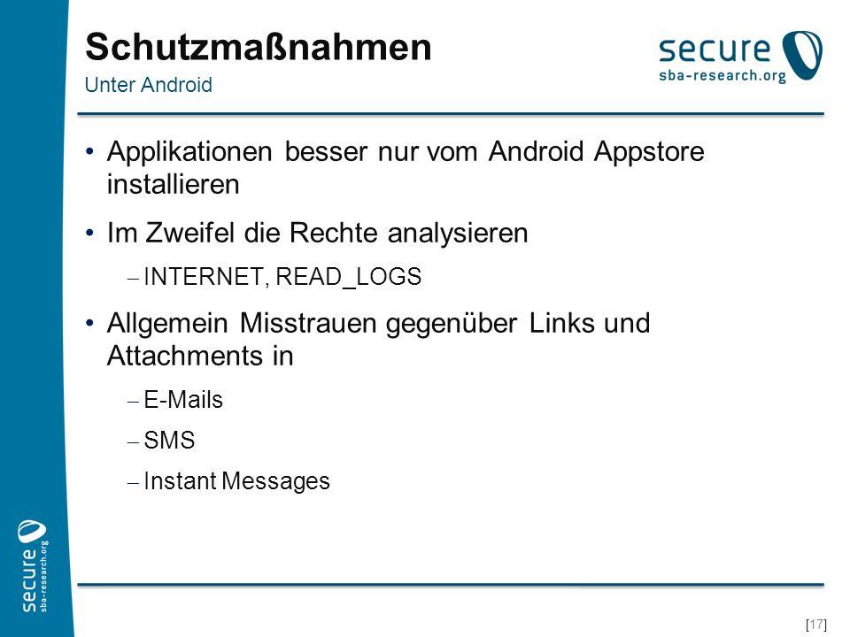 [18] Android Option, um unter Android Apps aus anderen Quellen zu installieren