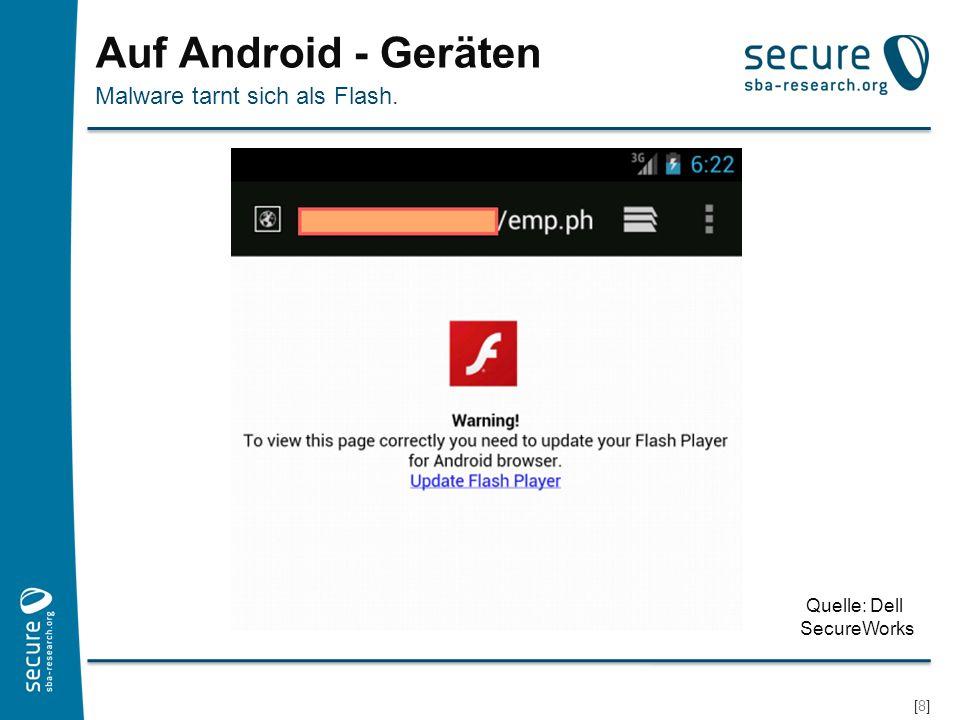 [9][9] Android Installationsdialog Nachfrage, ob die Software installiert werden soll Quelle: Dell SecureWorks