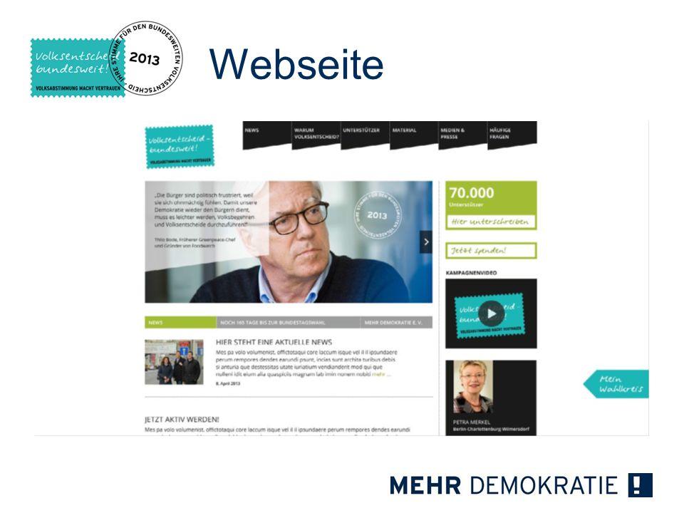 Webseite :