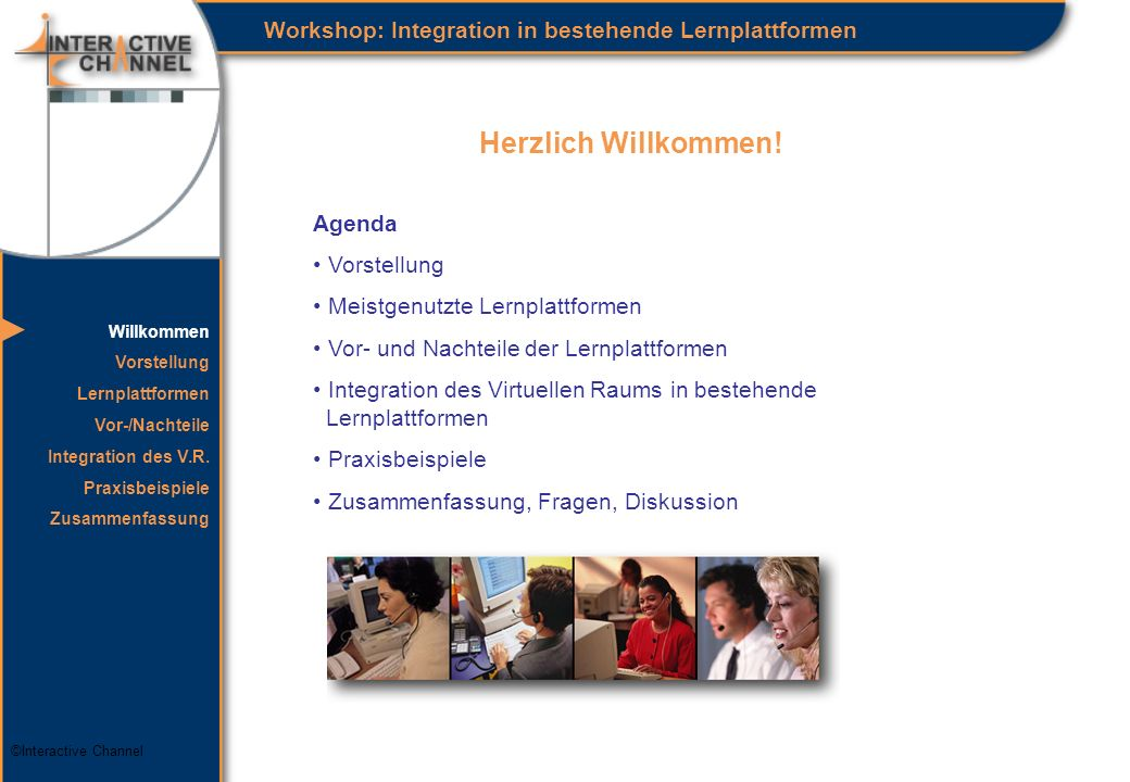 ©Interactive Channel Herzlich Willkommen.