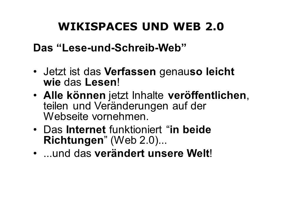 Einstiegs-Aktivität: http://wiekis.wikispaces.com/Home Bitte klicken Sie auf Discussion posts rechts oben neben Bearbeiten und beantworten Sie die Fragen unterEinstiegs-Aktivität.Discussion posts