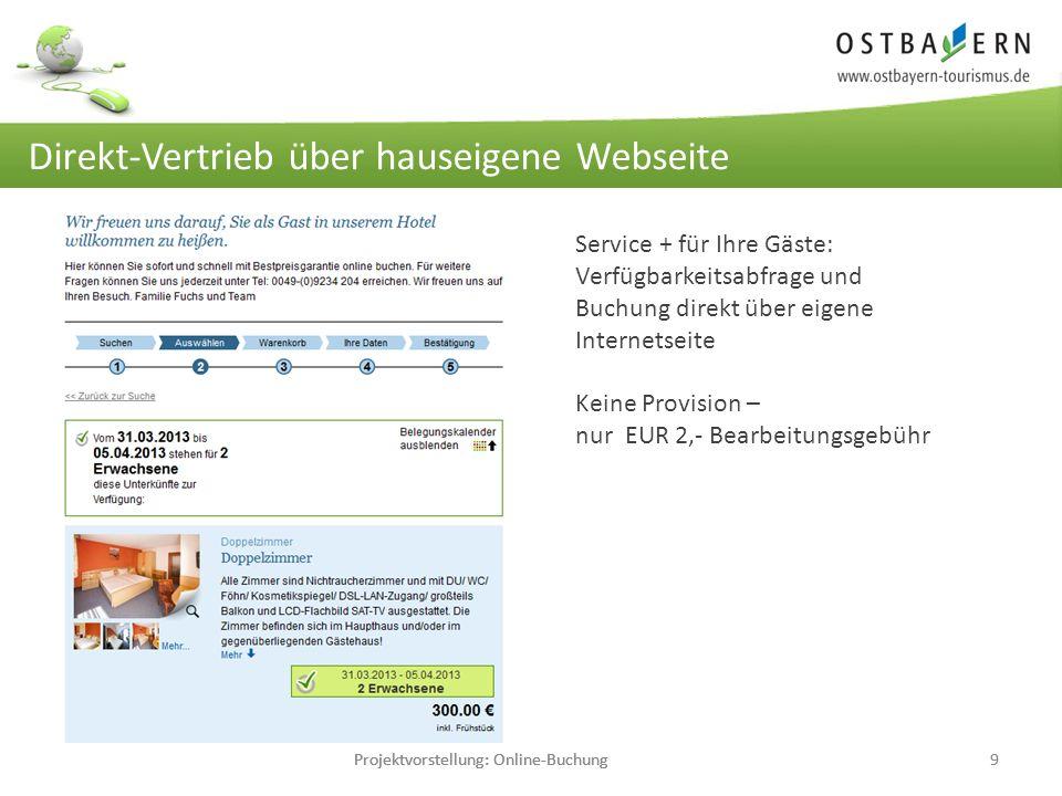 Projektvorstellung: Online-Buchung9 Einmalige Pflege… große Wirkung.