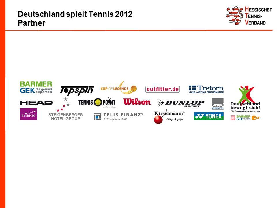 Deutschland spielt Tennis 2012 Partner