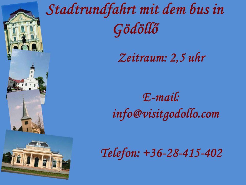 Die Umgebung von Gödöllő erwartet Sie!