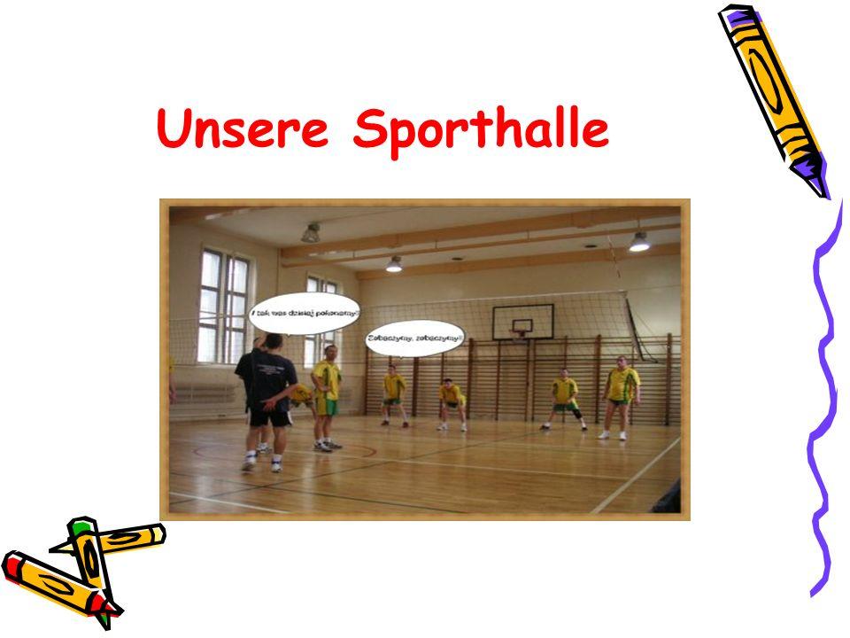 Unsere Sporthalle