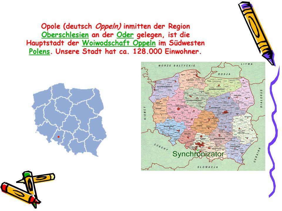 Opole (deutsch Oppeln) inmitten der Region Oberschlesien an der Oder gelegen, ist die Hauptstadt der Woiwodschaft Oppeln im Südwesten Polens. Unsere S