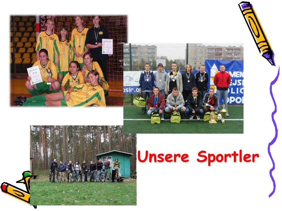 Unsere Sportler