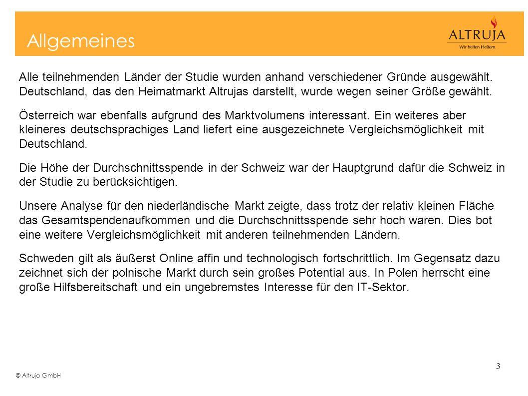 © Altruja GmbH 14 Kommunikationskanäle