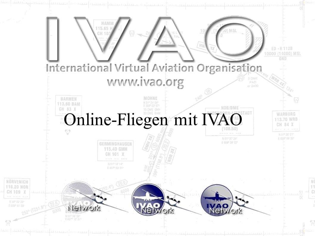 Online-Fliegen mit IVAO