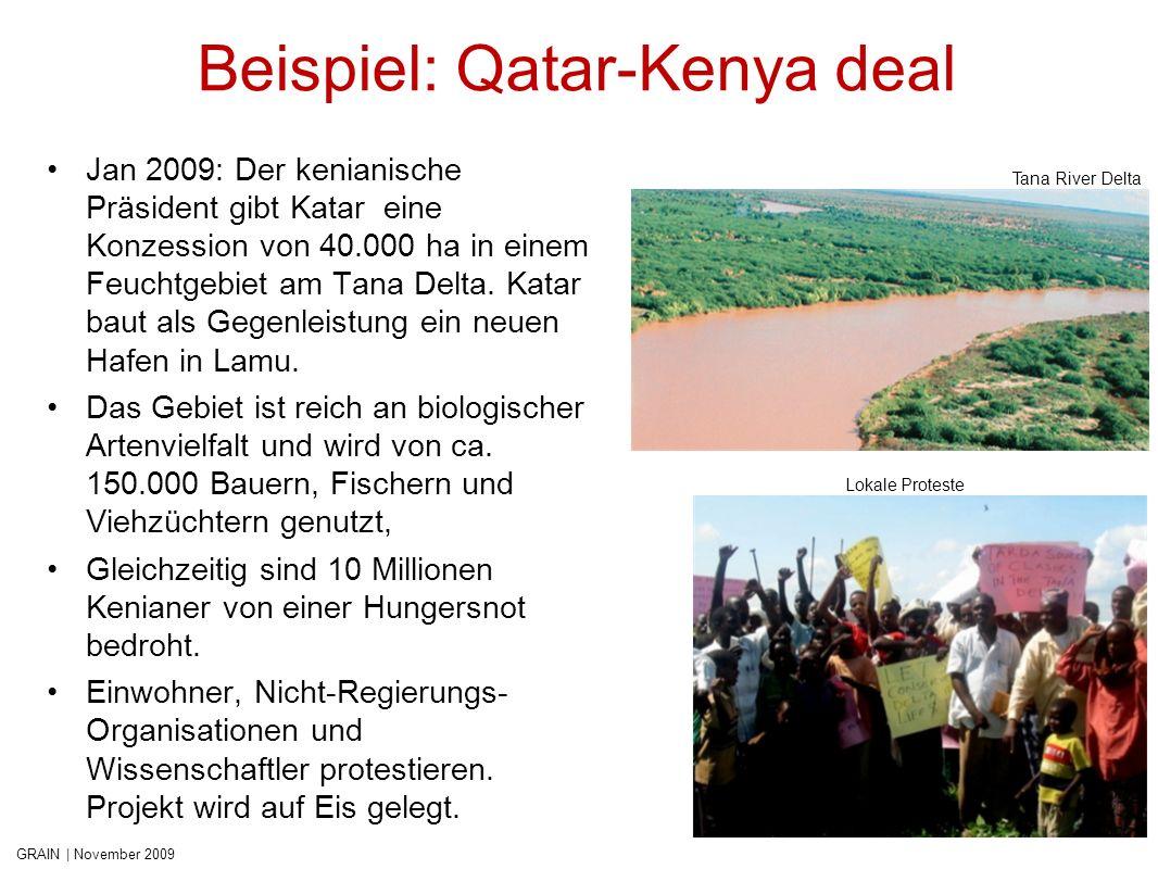 GRAIN | November 2009 Beispiel: Karuturi in Äthiopien Die äthiopische Regierung überlässt Investoren über 3 Mio.