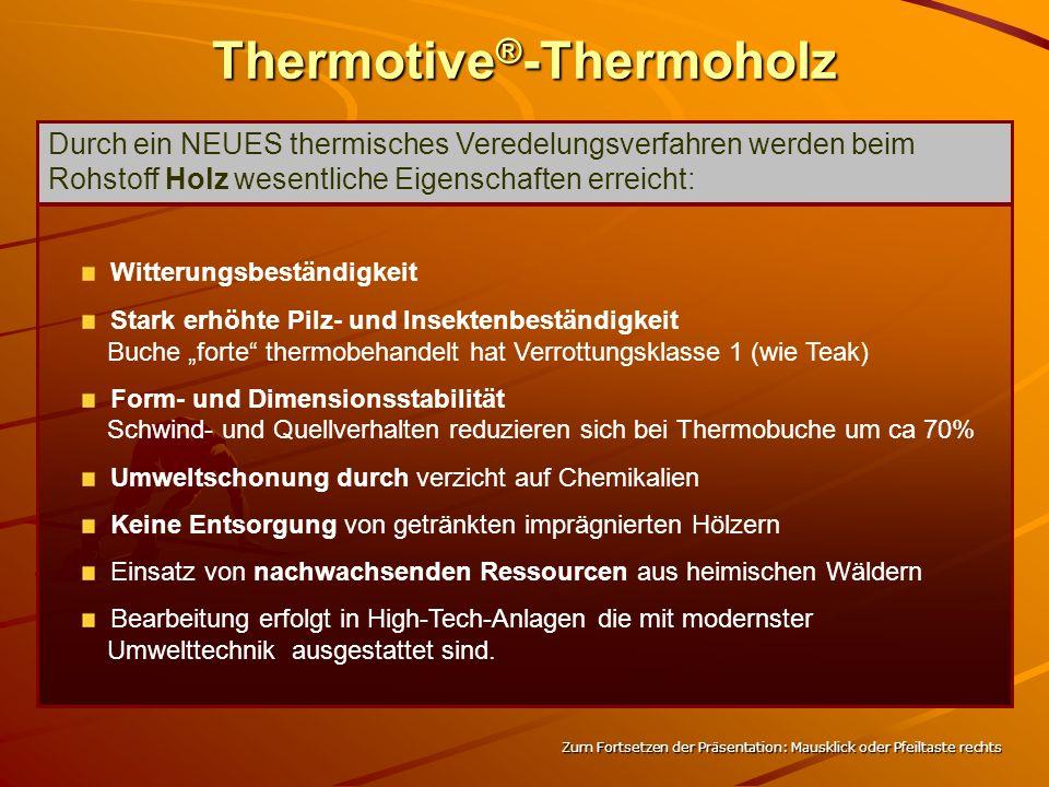 Thermotive ® 25 x 94/130 mm Zum Fortsetzen der Präsentation: Mausklick oder Pfeiltaste rechts