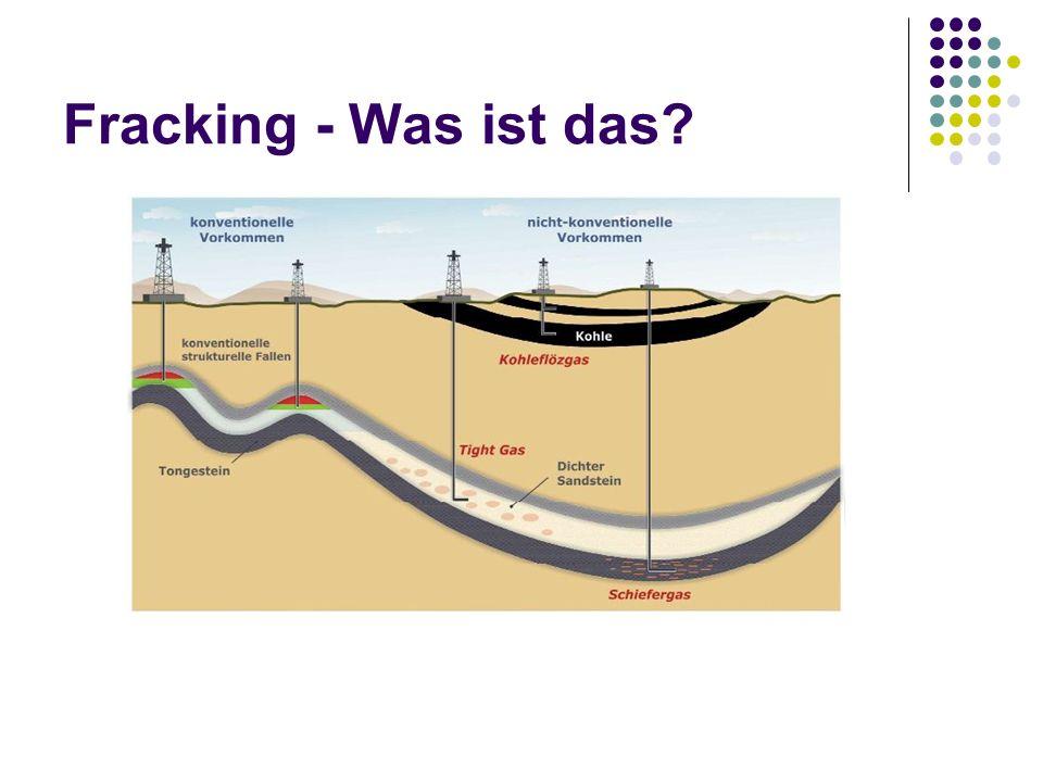 Fracking - Was ist das? Bis zu 5000 m Tiefe