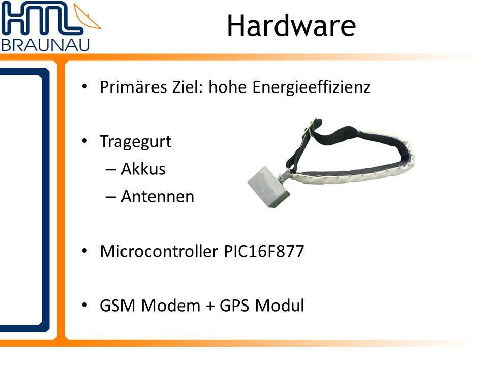 2 Programmteile: Dienstanwendung + GUI Anwendung Dienst: Datenempfang von RS232, Weitergabe an Datenbank GUI- Anwendung zum Steuern des Dienstes Serveranwendung