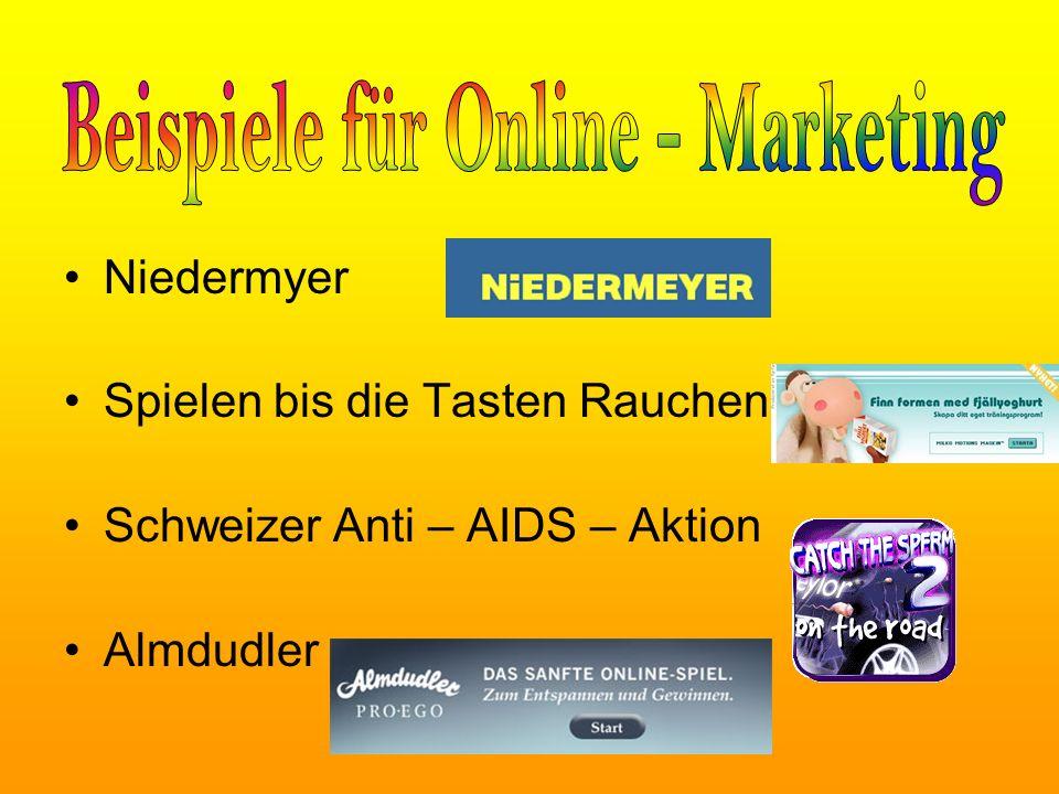 Niedermyer Spielen bis die Tasten Rauchen Schweizer Anti – AIDS – Aktion Almdudler
