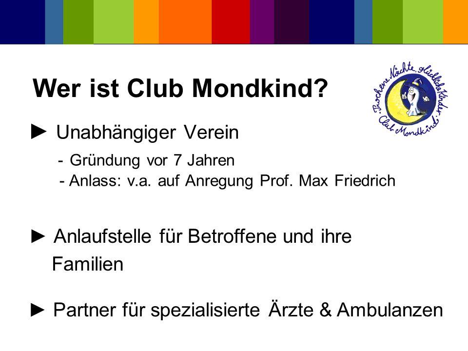 Unabhängiger Verein - Gründung vor 7 Jahren - Anlass: v.a. auf Anregung Prof. Max Friedrich Anlaufstelle für Betroffene und ihre Familien Partner für
