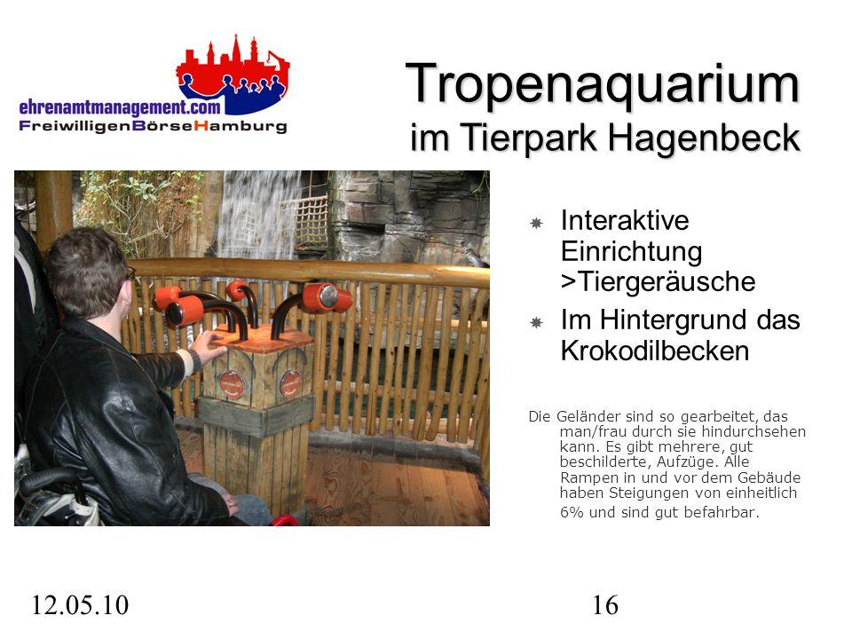12.05.1016 Interaktive Einrichtung >Tiergeräusche Im Hintergrund das Krokodilbecken Die Geländer sind so gearbeitet, das man/frau durch sie hindurchsehen kann.