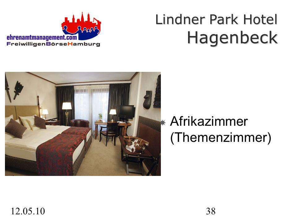 12.05.1038 Afrikazimmer (Themenzimmer) Lindner Park Hotel Hagenbeck