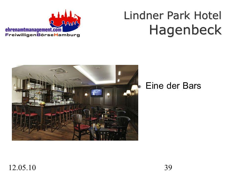 12.05.1039 Eine der Bars Lindner Park Hotel Hagenbeck