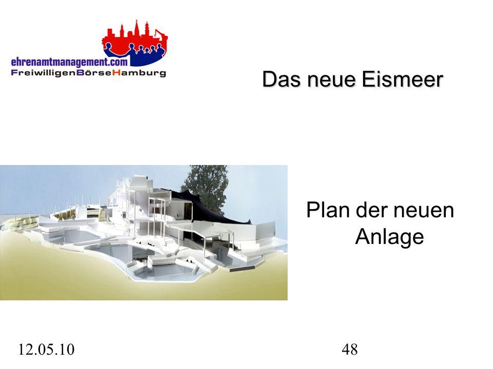 12.05.1048 Plan der neuen Anlage Das neue Eismeer
