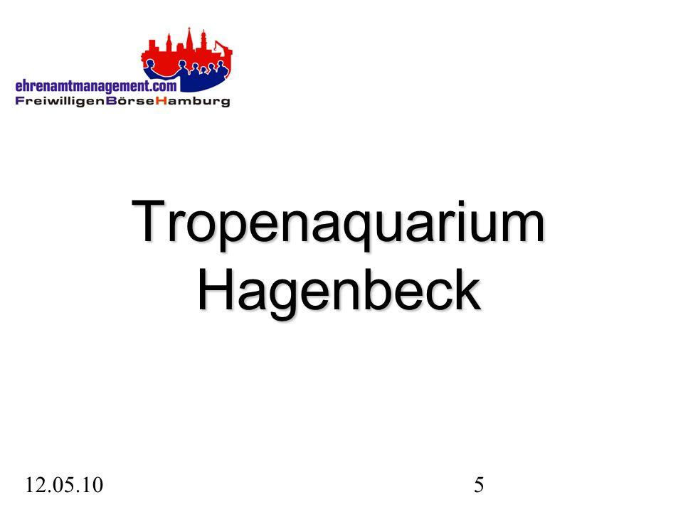 12.05.106 2007 hat Hagenbeck seine neue Attraktion eröffnet: das Tropen-Aquarium.